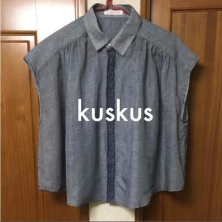 クスクス(kuskus)のクスクス 刺繍ブラウス(シャツ/ブラウス(半袖/袖なし))