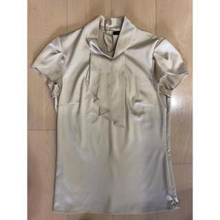 エスプリ(Esprit)の美品 ESPRIT サテンシャツ(シャツ/ブラウス(半袖/袖なし))