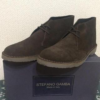 クラークス(Clarks)の新品未使用 STEFANO GAMBA ステファノガンバ チャッカーブーツ 43(ブーツ)
