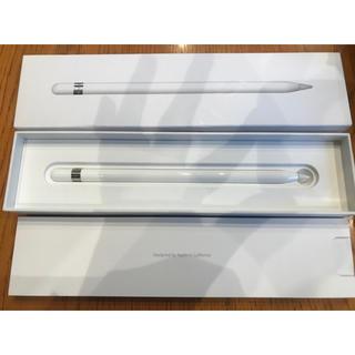 アップル(Apple)のApple pencil 美品(タブレット)