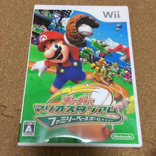Wii - スーパーマリオスタジアム ファミリーベースボール