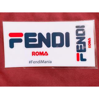 フェンディ(FENDI)のFendi mania ステッカー(ステッカー(シール))