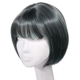 ウィッグシ ョートヘア フルウィッグショート (グレー)c-h95(ウィッグ)