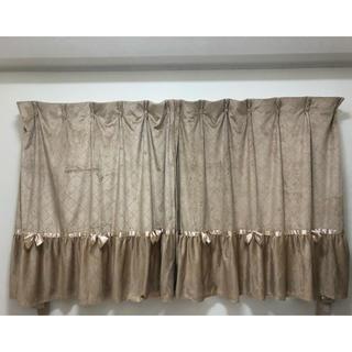 アンティークリボン❤️遮光1級カーテン(カーテン)