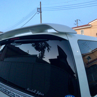 ニッサン(日産)のエルグランドE51 オーテック大型リアウィング(車種別パーツ)