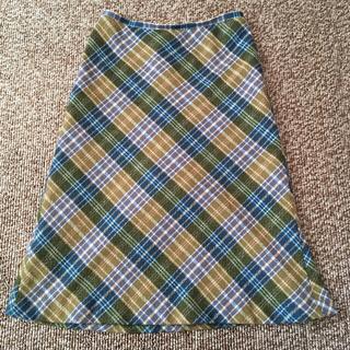 オフオン(OFUON)のofuon★スカート★サイズ38(ひざ丈スカート)