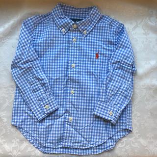 ラルフローレン(Ralph Lauren)のラルフローレン  ギンガムチェック  シャツ 90(ブラウス)