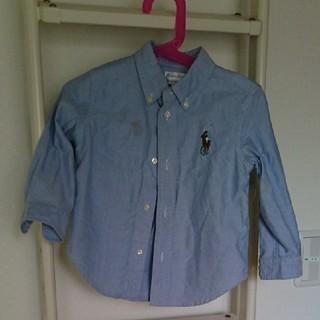 ポロラルフローレン(POLO RALPH LAUREN)のRALPH LAUREN 男の子用シャツ 95cm(ブラウス)
