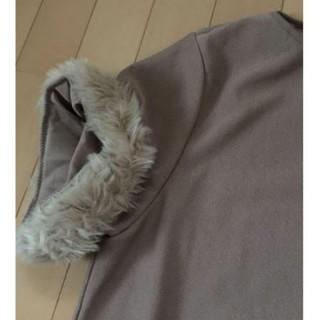 ザラ(ZARA)のZARA 袖ファートップス Lサイズ(カットソー(半袖/袖なし))