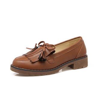 ハルタ(HARUTA)の柔らかい 学生靴 ローファー ブラウン(ローファー/革靴)