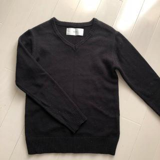 エイケイエム(AKM)のAKM Vネックセーター 黒 (ニット/セーター)