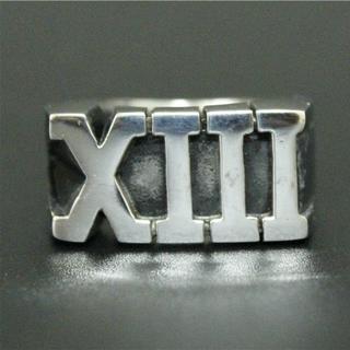 2896 SILVER925 重厚XIII 13シルバーリング24号 ROCK(リング(指輪))
