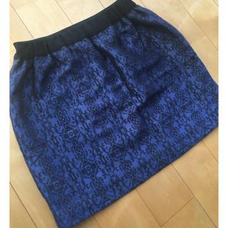 ツモリチサト(TSUMORI CHISATO)の【MERREM】 スカート(ミニスカート)