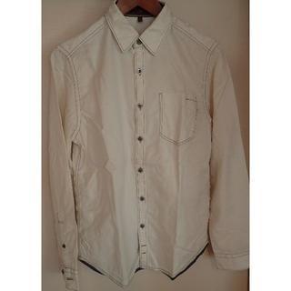 セブンフォーオールマンカインド(7 for all mankind)の7 For All Mankind (セブン) アイボリーホワイトシャツ(シャツ)