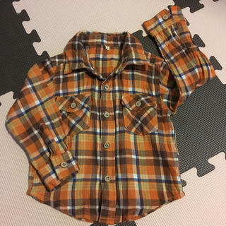 アカチャンホンポ(アカチャンホンポ)のチェックシャツ 90(ブラウス)