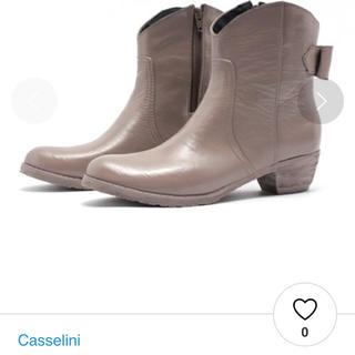 キャセリーニ(Casselini)のレインブーツ リボン ショートブーツ  キャセリーニ(レインブーツ/長靴)