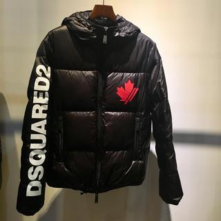 DSQUARED2 - DSQUARED2 ディースクエアード 新品 ダウンジャケット 44 ブラック