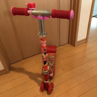 ディズニー(Disney)のミニーちゃん キックボード(三輪車/乗り物)