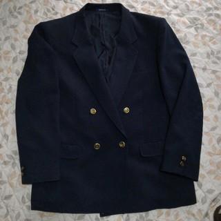 学生服高校ブレザー紺Lサイズ(スーツジャケット)