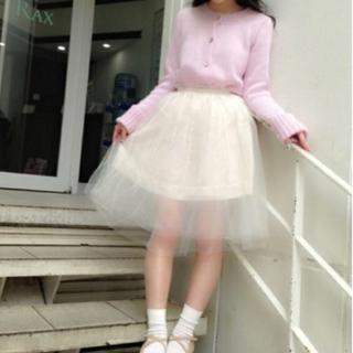 リズリサ(LIZ LISA)のチュール スカート (ひざ丈スカート)