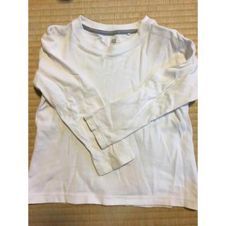ユニクロ(UNIQLO)のTシャツ 長袖(Tシャツ/カットソー)