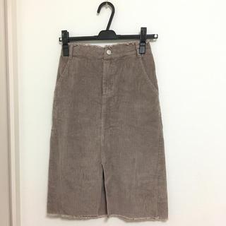 アルシーヴ(archives)のコーデュロイスカート (ひざ丈スカート)