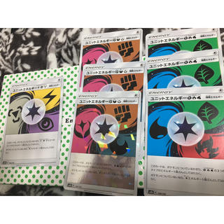 ポケモン(ポケモン)のユニットエネルギー セット(シングルカード)