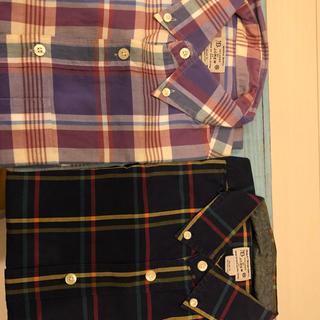 ジェイクルー(J.Crew)のJクルー チェックシャツ2枚セット XSサイズ(シャツ)