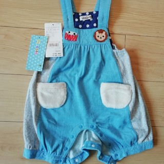 キムラタン(キムラタン)の新品 子供服 90サイズ キムラタン ロンパース カバーオール (カバーオール)