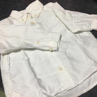 ムジルシリョウヒン(MUJI (無印良品))の白シャツ キッズ(その他)