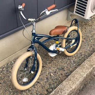 子供用 自転車 ブリエアンファン 美品  16インチ ブルー(自転車)