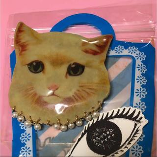 アチャチュムムチャチャ(AHCAHCUM.muchacha)のあちゃちゅむ  ムチャチャ 猫 バレッタ(バレッタ/ヘアクリップ)