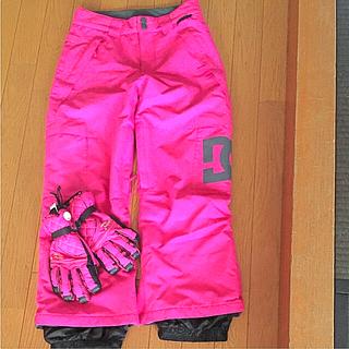 ディーシー(DC)のDCウエアーパンツ&手袋(ウエア/装備)