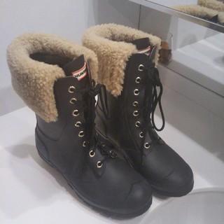 ハンター(HUNTER)のHUNTER ボア付き長靴(レインブーツ/長靴)