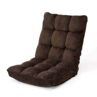 【送料無料】座椅子 ふわふわな座り心地 42段階調整(座椅子)