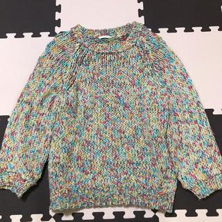 ジーユー(GU)のマルチカラー ミックス セーター(ニット/セーター)