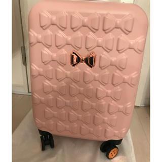 テッドベイカー(TED BAKER)のTED BAKER キャリーバッグ ピンク♡機内持込スーツケース(スーツケース/キャリーバッグ)