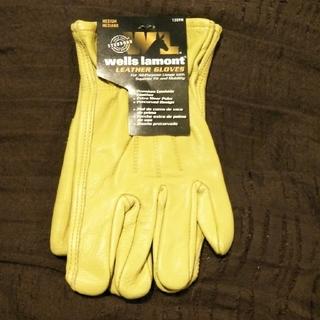 ウェルズラモント 作業グローブ 1セット 新品・未使用(手袋)