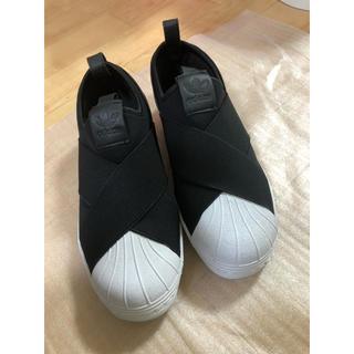 アディダス(adidas)のアディダス スリッポン 23.5cm(スリッポン/モカシン)