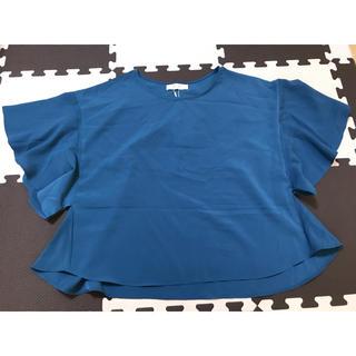 ディスコート(Discoat)のフリルスリーブ ブラウス(シャツ/ブラウス(半袖/袖なし))