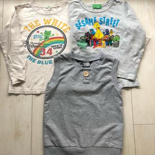 サンカンシオン(3can4on)の120㎝  3点セット(Tシャツ/カットソー)