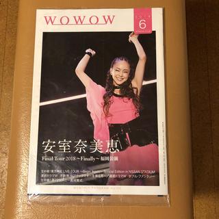 安室奈美恵WOWOW(未開封)(女性タレント)
