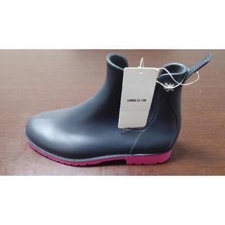 コムサイズム(COMME CA ISM)のコムサイズム 女性用 フランス製 ソールバイカラーレインシューズ(レインブーツ/長靴)