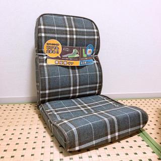 【直接引き取り限定】無段階リクライニング座椅子★NDTスミス明光ホームテック(座椅子)