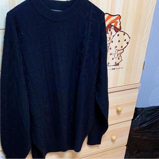 ヴェルサーチ(VERSACE)のニット(Tシャツ/カットソー(七分/長袖))