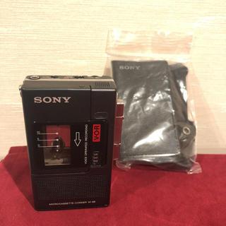 ソニー(SONY)のM-88 microcassette-corder(ラジオ)