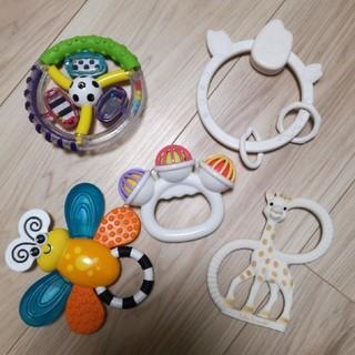 サッシー(Sassy)の乳児用 おもちゃ 5点セット(知育玩具)