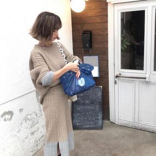 エンビールック(ENVYLOOK)の【美品】ENVY LOOK 配色ニット+スカート(ニット/セーター)