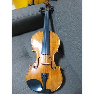 【日本製】 平山一誠 作 ヴァイオリン 4/4 1999年作 調整済み(ヴァイオリン)