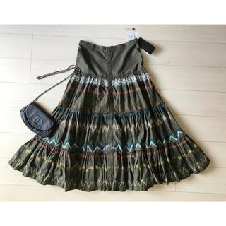 ネネット(Ne-net)のNe-net 限定販売 日本製刺繍ボリュームロングスカート新品79,800円(ロングスカート)